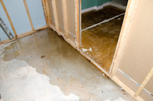 plumbing water leak damage